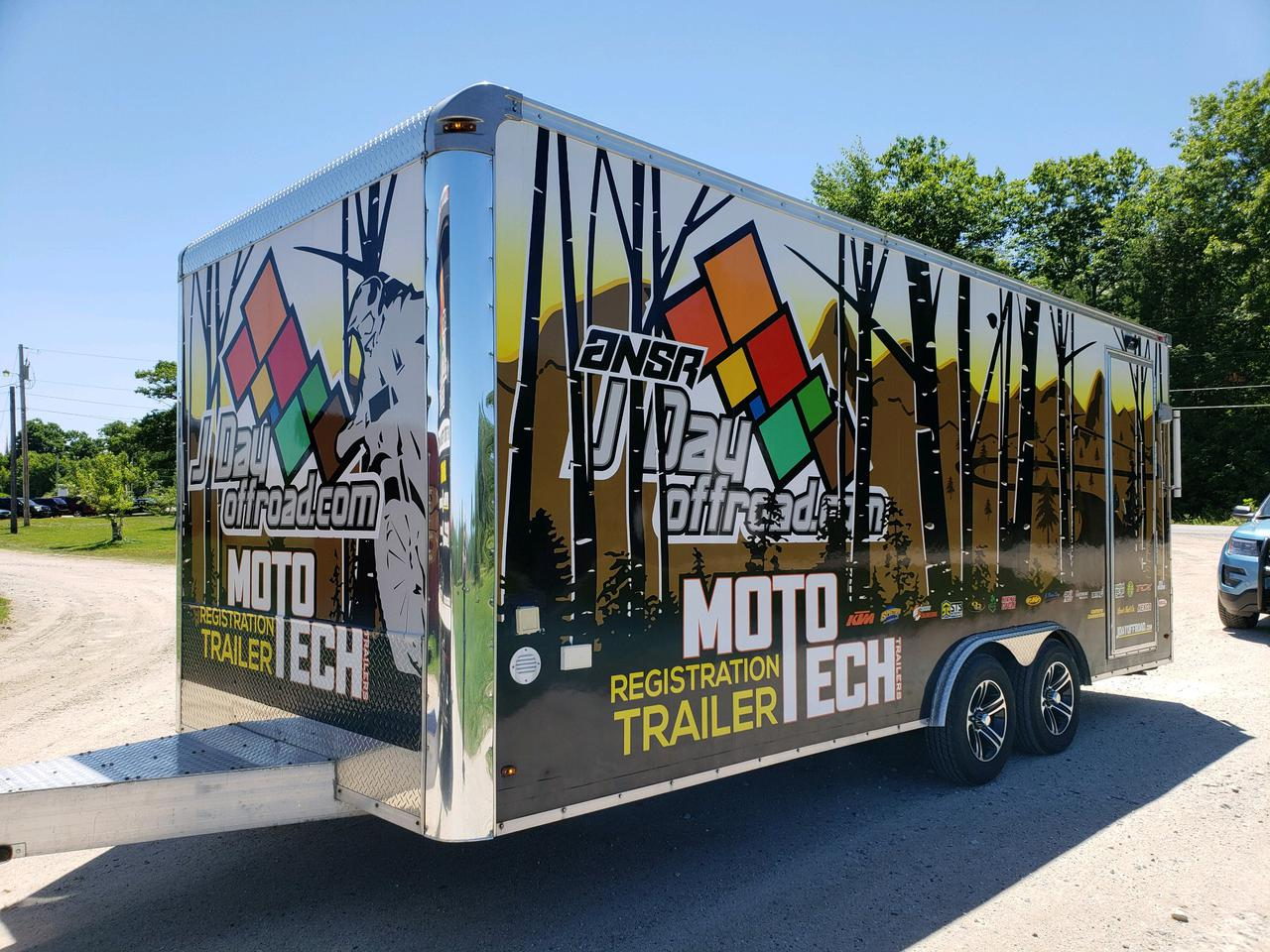 camper - moto tech trailers