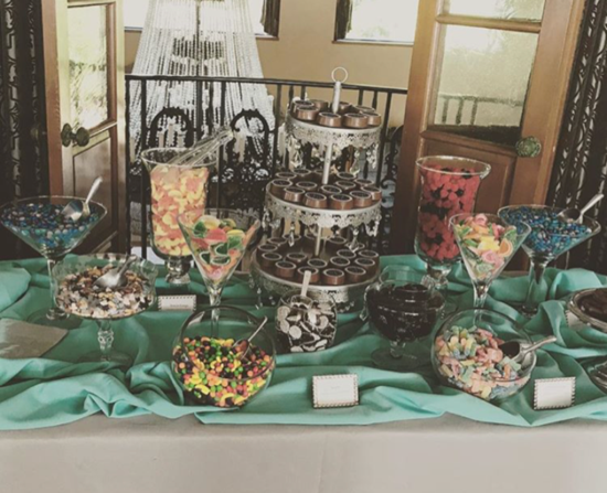 teal & sliver candy table.png
