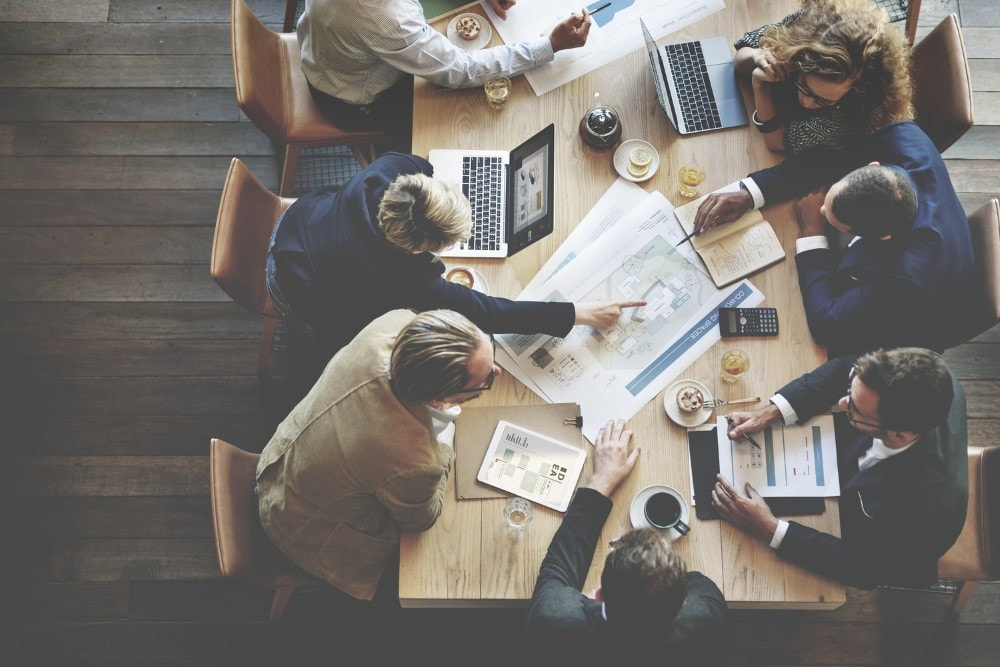 Business People Meeting Confer Custom min