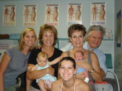 Terri Panzer, Jackie McClanahan and Families