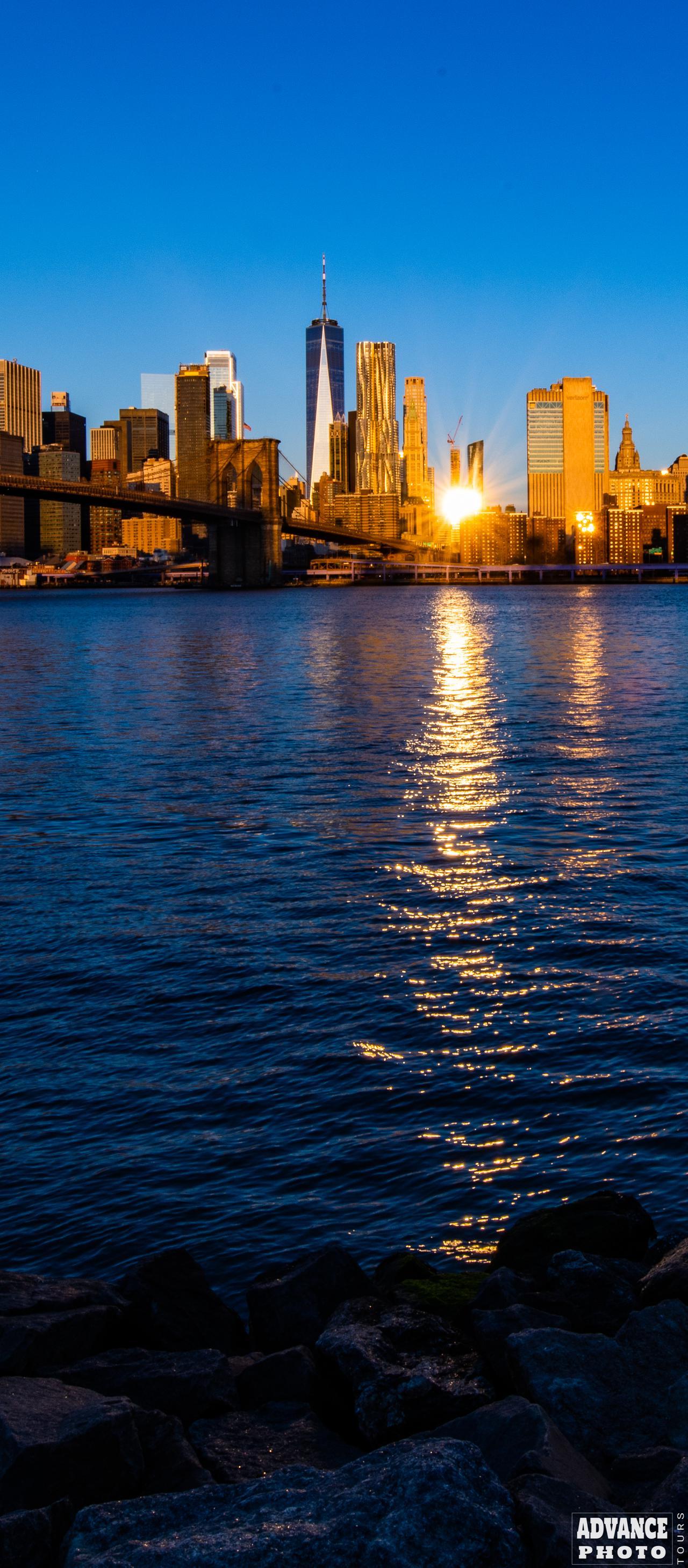 Google Pixel 5 NYC Sunrise