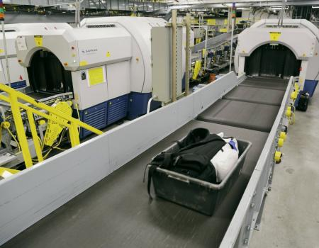 In Line Baggage Explosion Detection System (EDS)