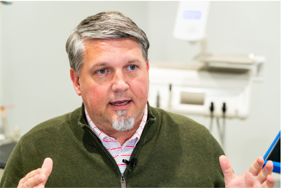 Scot Armstrong, CEO, Promethean Dental Systems