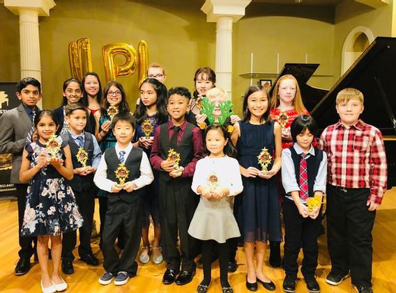 NPL Winter Recital Steinway Hall Plano