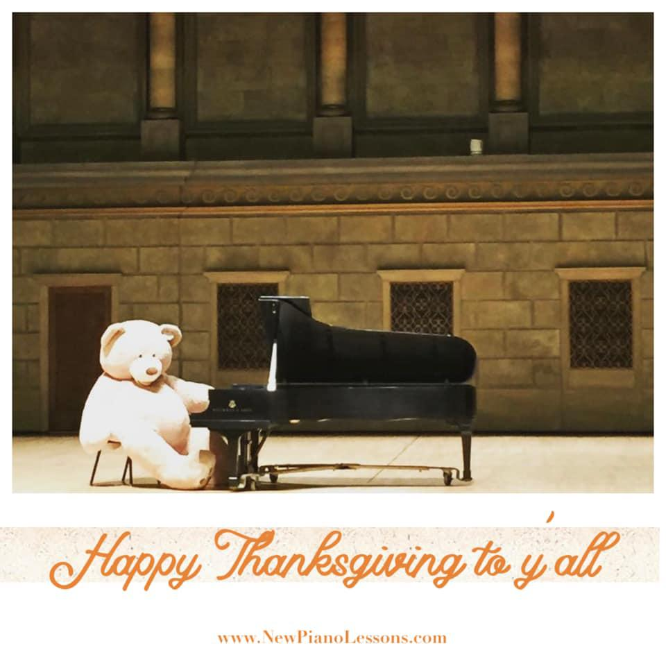 🧡Happy Thanksgiving to all of you!! NPL Piano Studio is