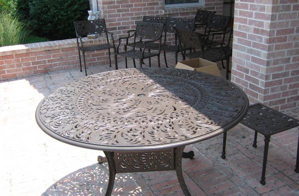 Metal Furniture Restoration