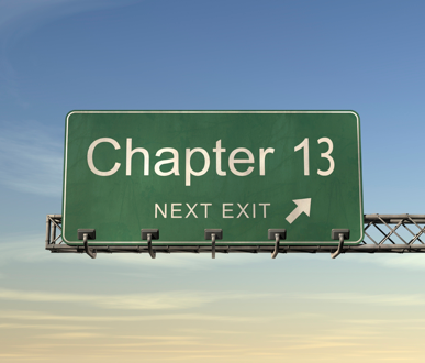 Chapter 13 bankruptcy filing in Michigan.
