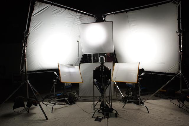 Production in studio