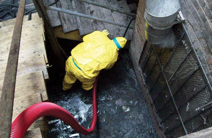sewage cleanup   Disinfect-It