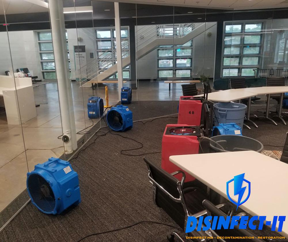 Residential Water Damage Restoration | Disinfect-It