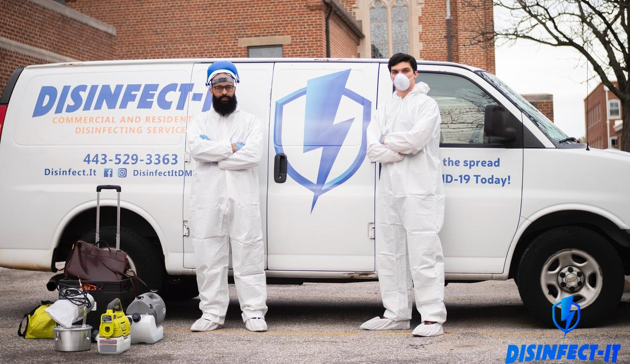 residential disinfection services | Disinfect-It