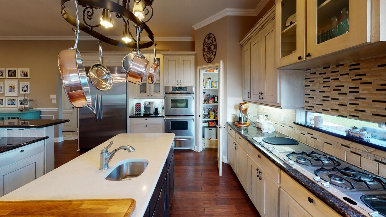 Renovating the countertops is the perfect idea for kitchen remodeling on a budget.