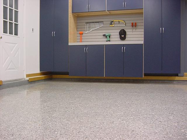 garage floor upgrade