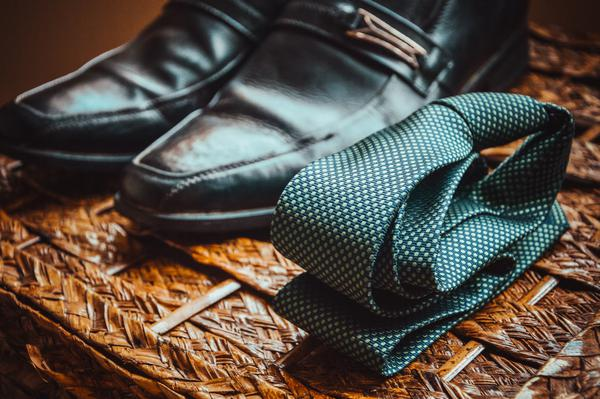 A Tie and Some Shoes