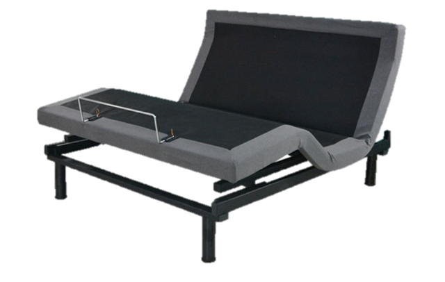 Photo of an adjustable bed designed for senior citizens.