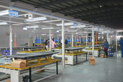 Innova Sleep System's Adjustable Motion Beds Manufacturing Factory