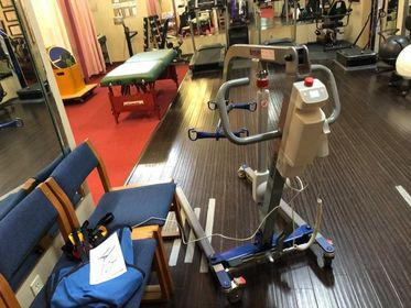 exercise room at healthcare solutions chiropractic care center in houston tx