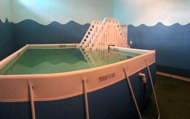 aquatherapy facility at healthcare solutions chiropractic care center in houston tx