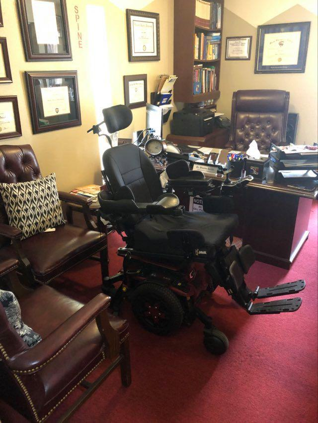 interior view of healthcare solutions chiropractic care center in houston tx