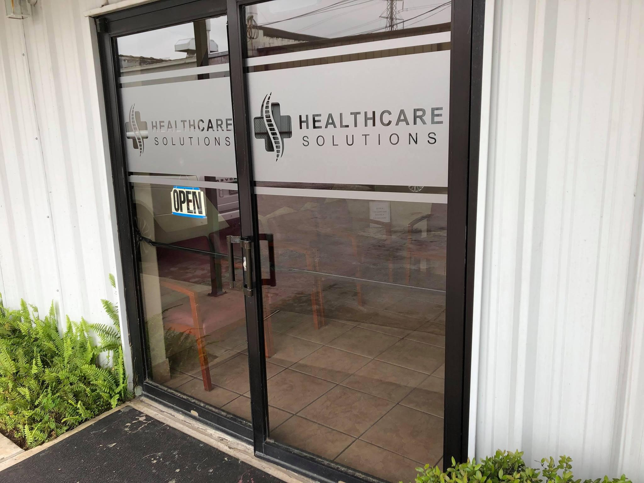 entry to healthcare solutions chiropractic care center in houston texas