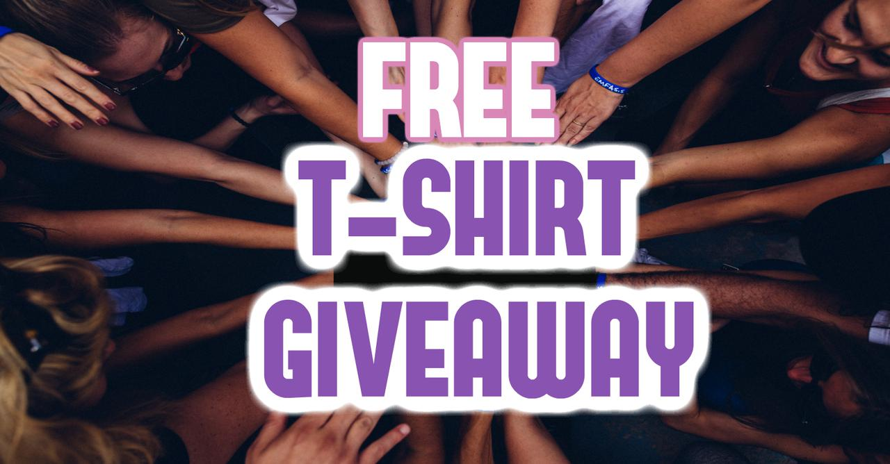 Free T-Shirt Giveaway
