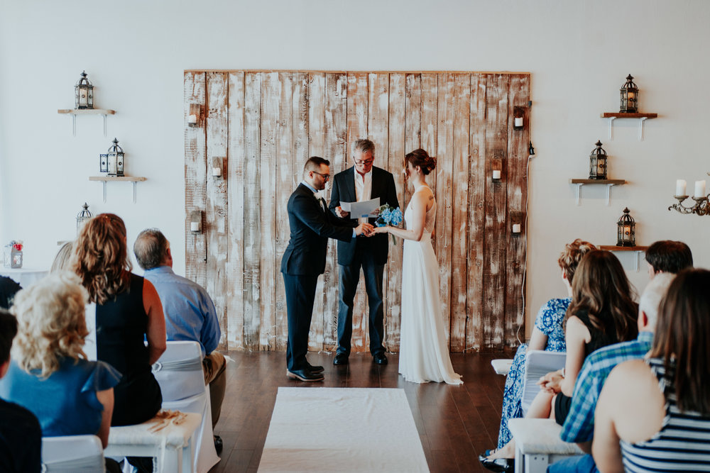 Oklahoma wedding venue at the boutique Ever After.