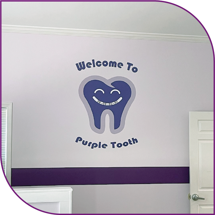 Purple Tooth logo.