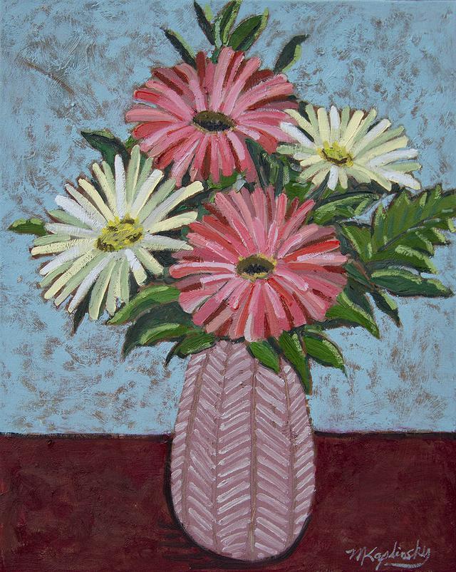 matt kaplinsky _gerbers pink and white _2019 _16x20 oil on canvas _web.jpg