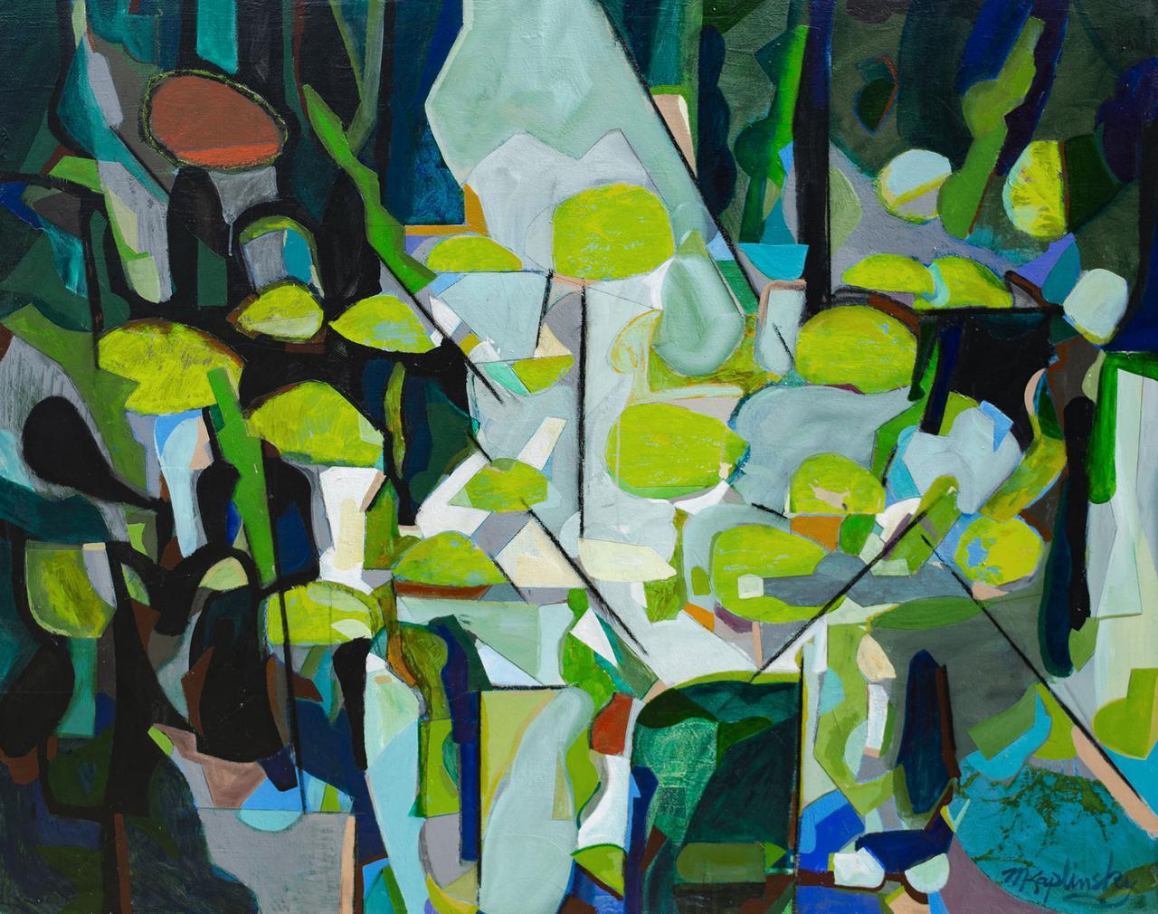 clover pond _48x60 _acrylic and paper on canvas by matt kaplinsky _web.jpg