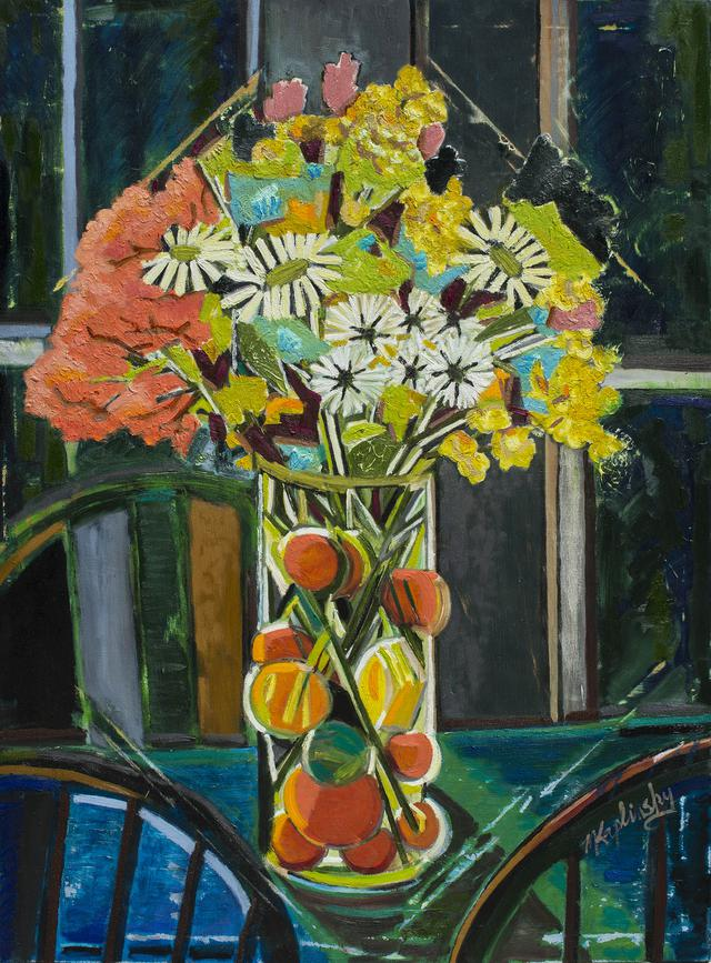 portfolio/Bouquet on the Back Table - 36x48 oil on canvas by Matt Kaplinsky.jpg