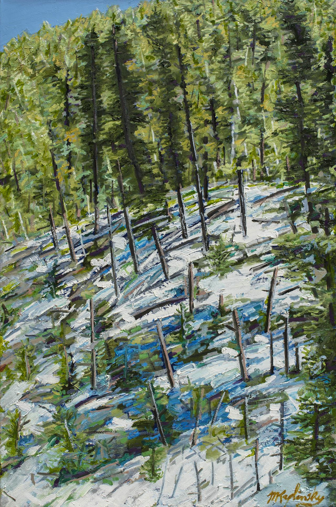portfolio/Morning in the Ski Valley - 24x36 oil on canvas by Matt Kaplinsky.jpg