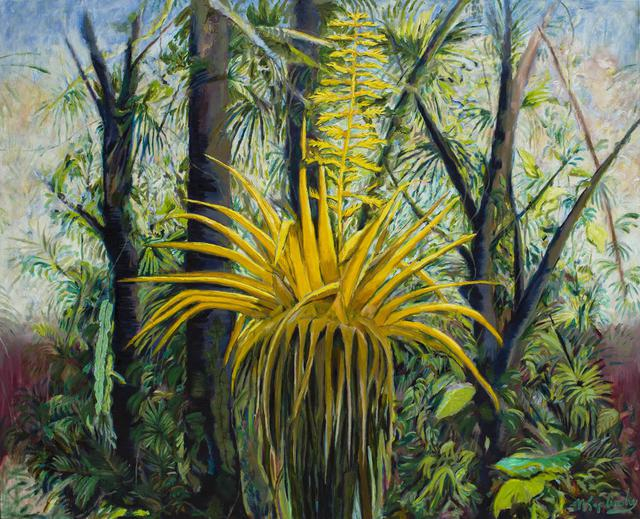 Sunrise Costa Rica oil on canvas fine art piece by Matt Kaplinsky 60x72