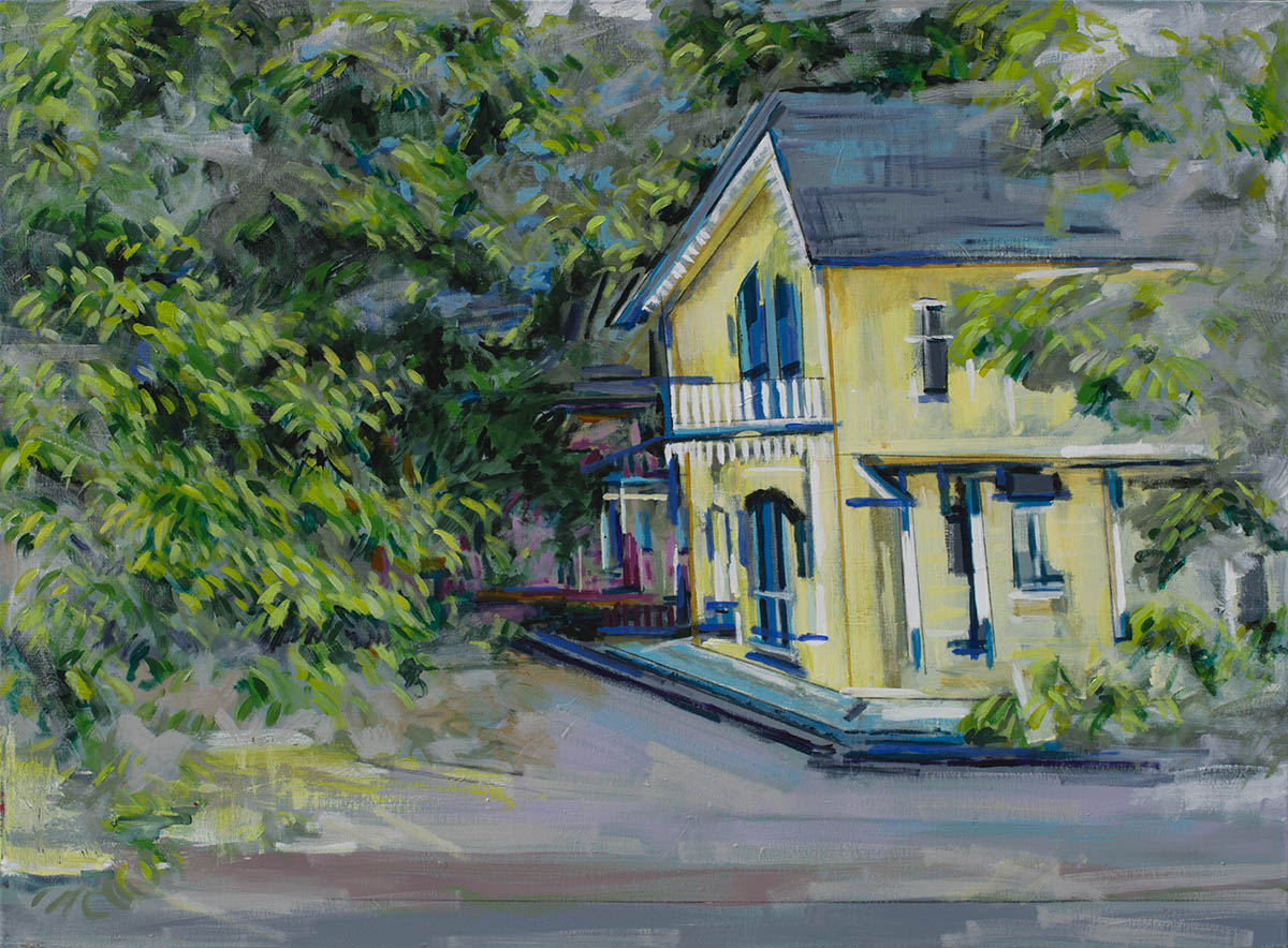portfolio/Yellow Vineyard House - 36x48 acrylic on canvas by Matt Kaplinsky.jpg
