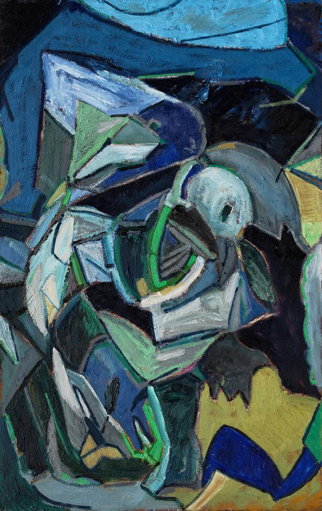 Composition in Blue by Matt Kaplinsky _oil on masonite 26x40 _web.jpg