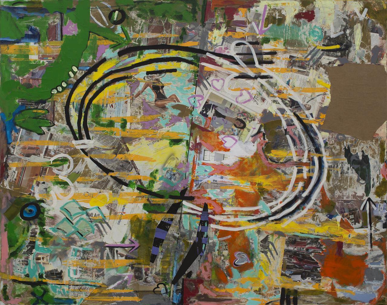 Over and Under - 48x60 mixed media on canvas by Matt Kaplinsky.jpg