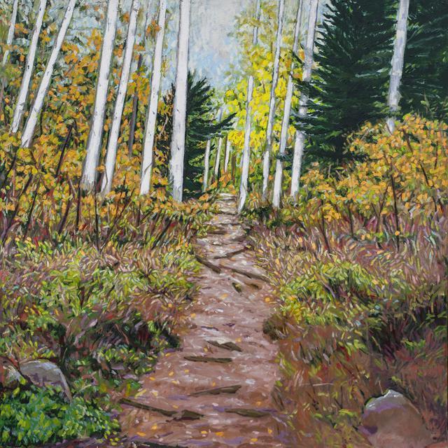 Aspen Hiking Trail by Matt Kaplinsky _oil on canvas 48x48 _web.jpg