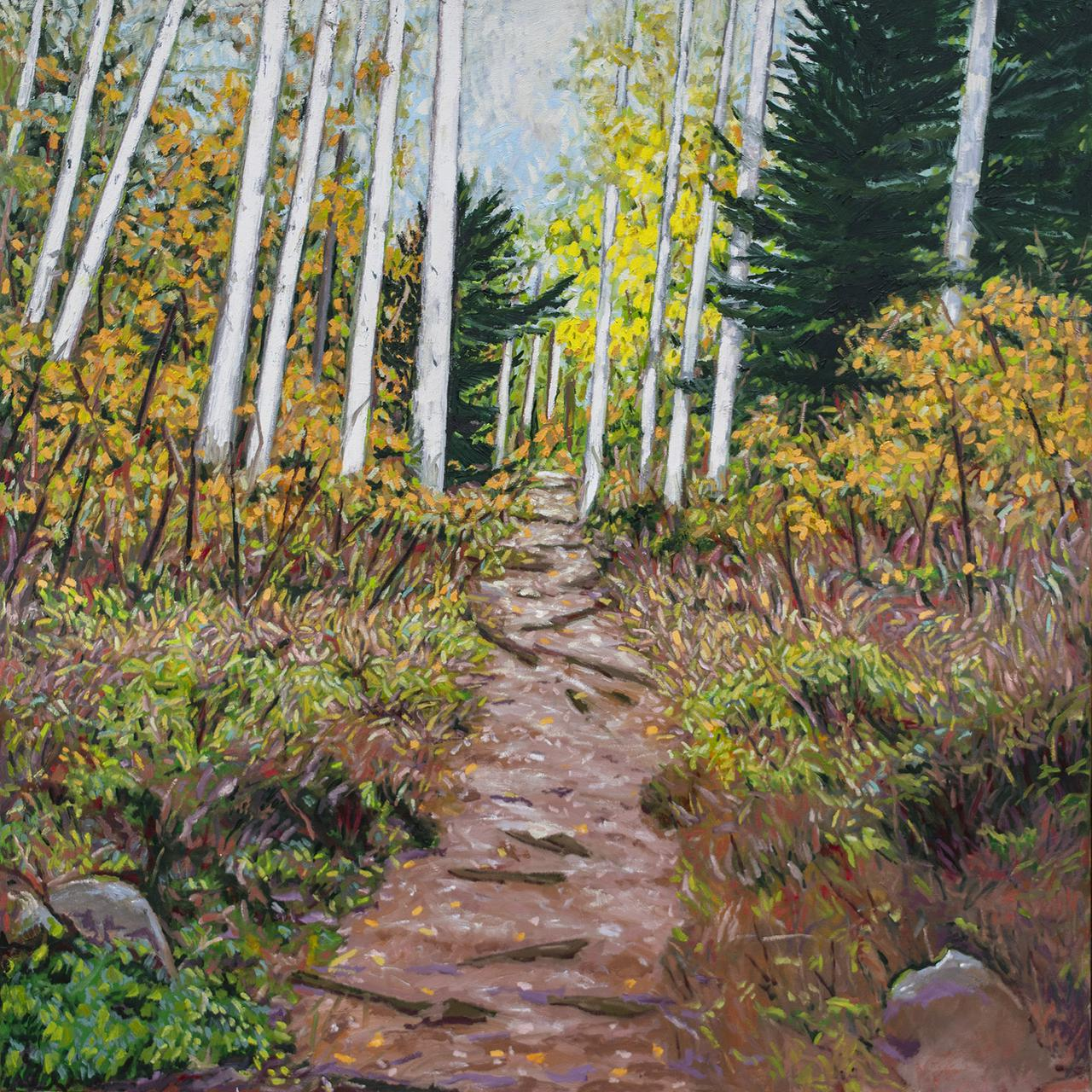 Aspen Hiking Trail by Matt Kaplinsky _oil on canvas 48x48 _web.jpg