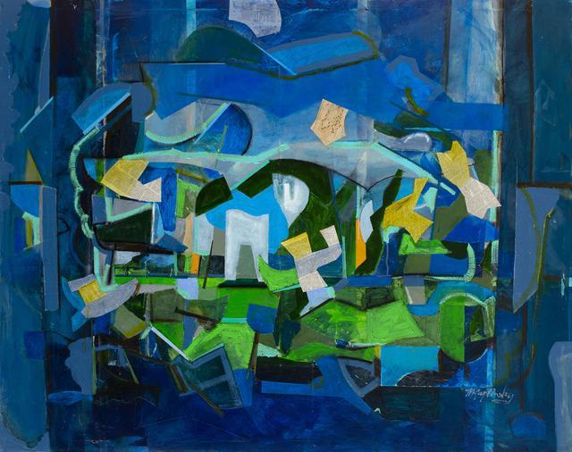blue spell _48x60 paint and paper on canvas _by matt kaplinsky _web.jpg