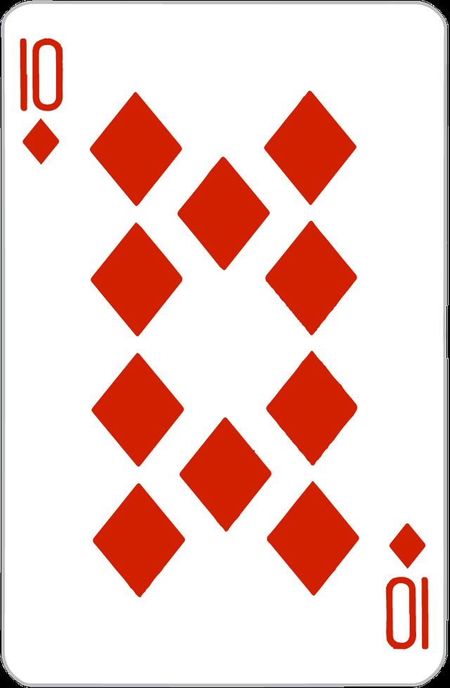 The Ten of Diamonds