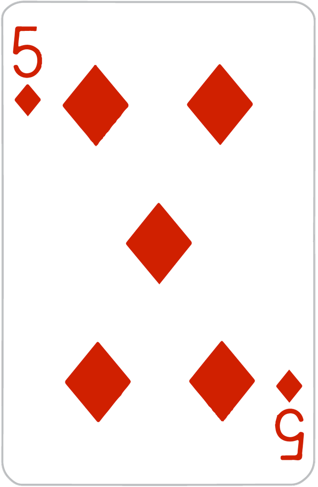 The Five of Diamonds