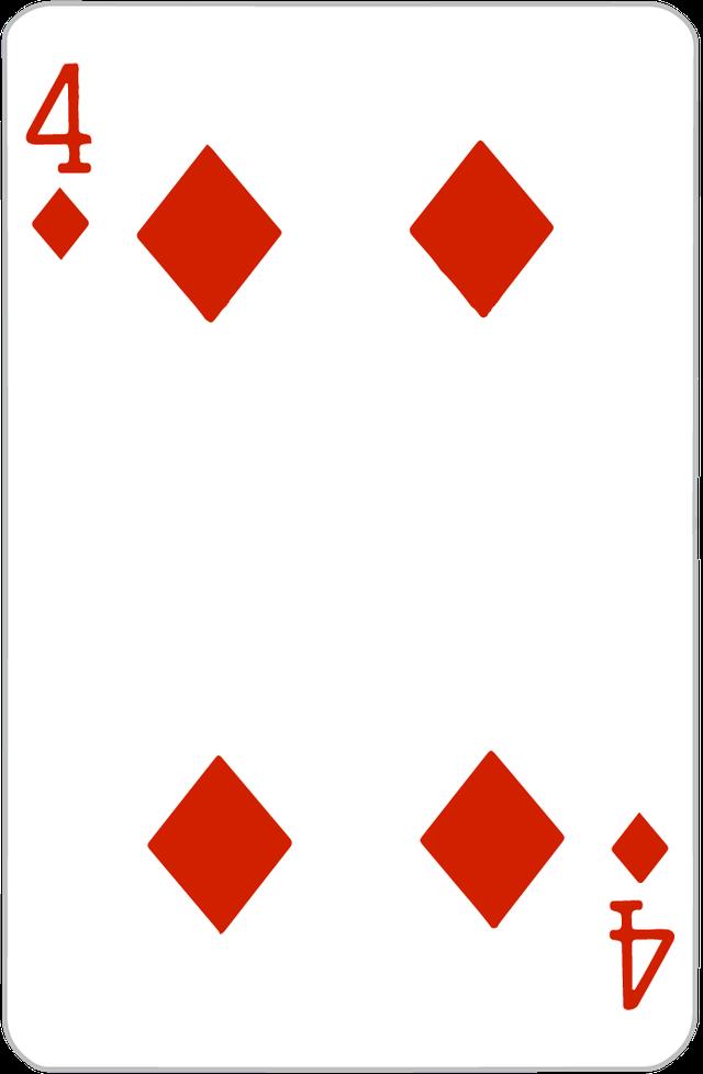 The Four of Diamonds