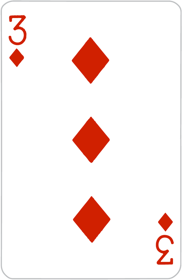 The Three of Diamonds