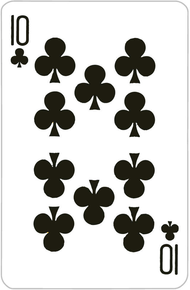 The Ten of Clubs