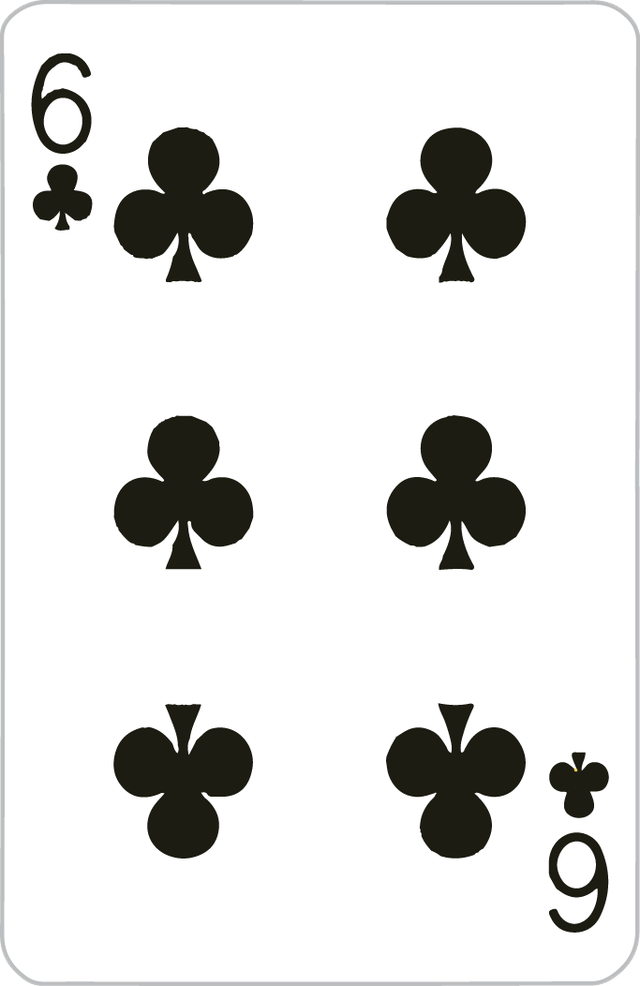 The Six of Clubs