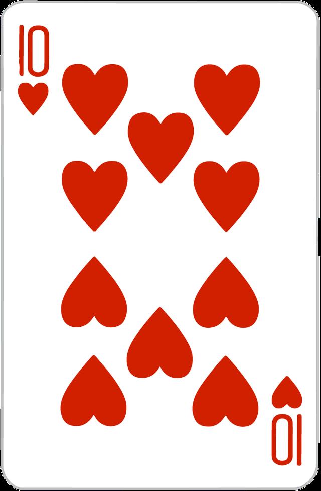The Ten of Hearts