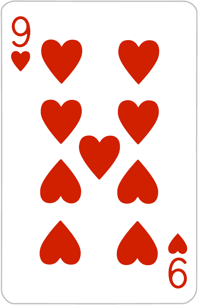 The Nine of Hearts