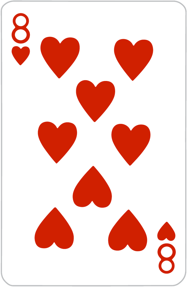 The Eight of Hearts