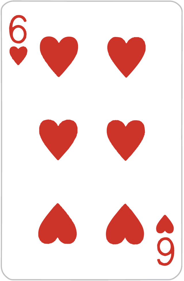 The Six of Hearts