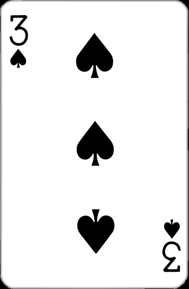 The Three of Spades