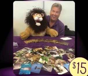 psychic rick finbow's animal totem deck